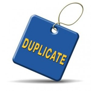 preventing duplicate entries